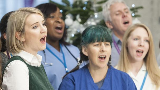 Staff formed The NHS Choir but research suggests patients would also be well advised to take up choral activity