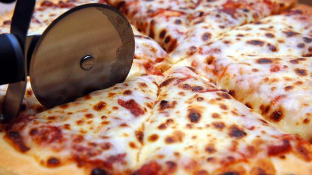 An agent dressed as a pizza deliveryman made the arrest
