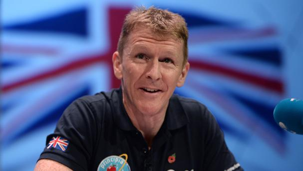 Major Tim Peake is to take part in the London Marathon from the International Space Station