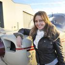 Carol Vorderman obtained her pilot's licence two years ago