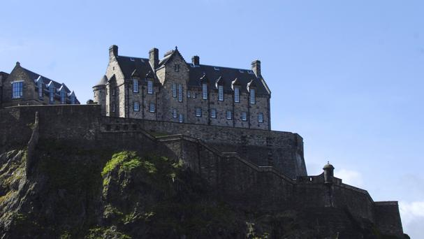 Edinburgh Castle was used as the backdrop for Police Scotland's 'running man' dance video