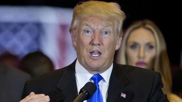 Donald Trump's poll numbers among Latinos have been consistently poor (AP)