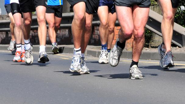 Many runners think the rules regarding litter disposal are suspended when a race is going on. (Stock picture)