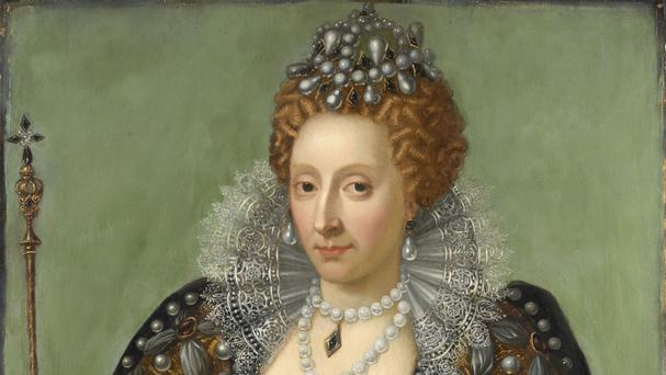 Historians have linked the cloth to Queen Elizabeth I