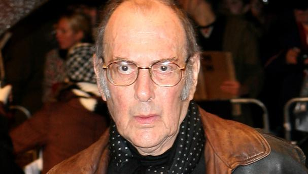 Playwright Harold Pinter.
