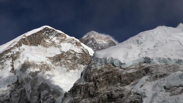 Lhakpa Sherpa was among 18 climbers who reached the peak on Friday morning (AP)