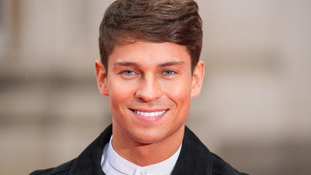 Joey Essex was among a specially invited audience in north London