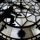 The clock was damaged at a US museum