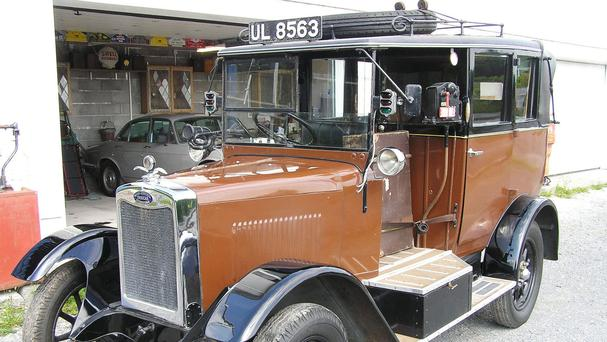 A 1928 Morris model G taxi is the last of only 840 built (Richard Edmonds Auctions/PA)