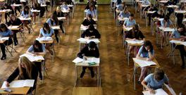 Students sitting the Leaving Certificate