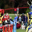 Women will be taking part in jousting events at English heritage castles