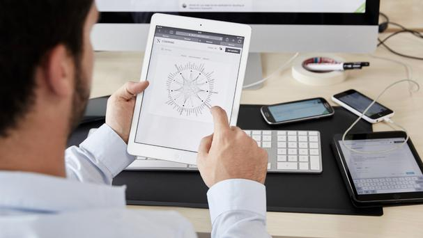 Starmind software that can understand and answer work-related questions (Starmind International AG/PA)