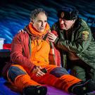 Jim Lichtscheidl, right, and Mark Rylance star in Nice Fish (The Corner Shop/PA)