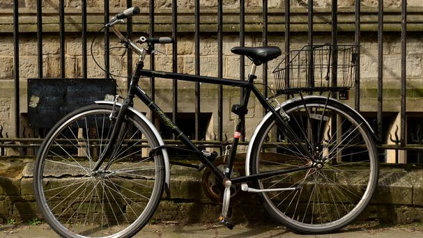 A Cheshire village has complained of cyclists swearing and urinating on the streets of their