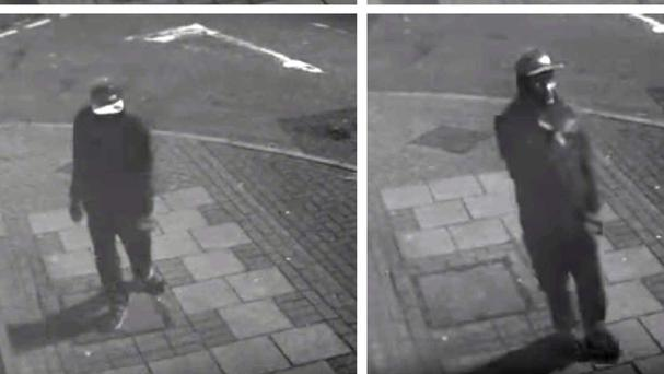 The moment thief Kamayi Matumona discovered a £50 note in a stolen wallet and appeared to perform a celebratory dance (West Midlands Police/PA)