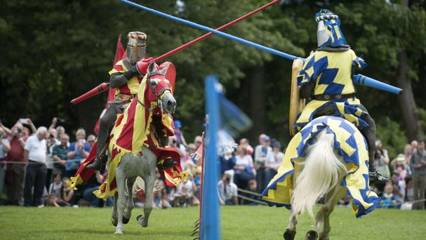 Campaigners say jousters need the same levels of fitness, skill and strength as many Olympic competitors