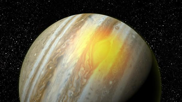 Jupiter's Great Red Spot (Boston University)