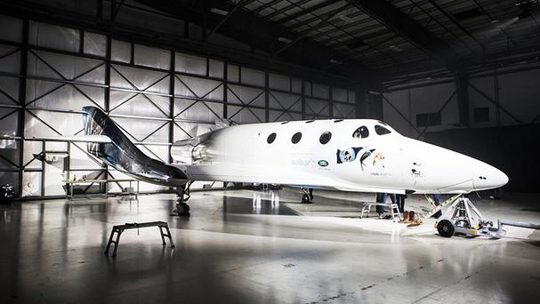 The new Virgin Galactic SpaceShipTwo