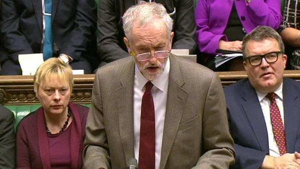 Tom Watson said he tries 'not to have any facial expression at all' during PMQs