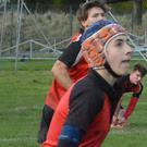 Tom Harris, who broke his arm playing rugby just after starting his exams (Barnard Castle School/PA)