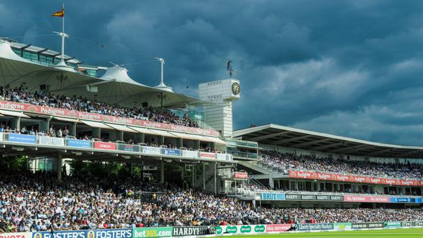 It has become something of a tradition among cricket fans to blast champagne corks onto the field of play