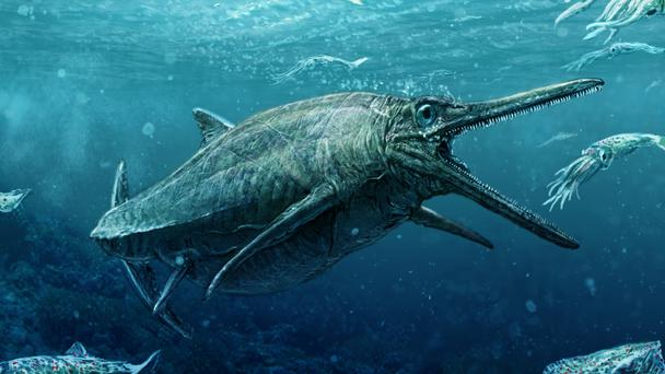An artist's impression of how the Storr Lochs Monster would have looked (PA/Todd Marshall)