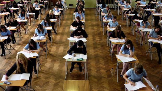 Among the 60,247 students getting their results today are six who received 12As (Stock picture)