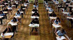 Across Dublin, inner city school CBS Westland Row was celebrating its students' best Junior Cert results in 20 years (Stock picture)