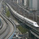 A bullet train in Japan (AP)
