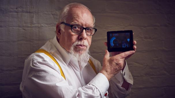Sir Peter Blake said pop art 'is the perfect medium to capture the significance of smart meters and their arrival in homes across Britain'