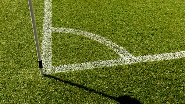 One half of the pitch is shorter than the other and from above it looks more like a trapezoid than a rectangle