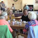 The Duchess of Northumberland has set up a cafe to combat loneliness in elderly people a