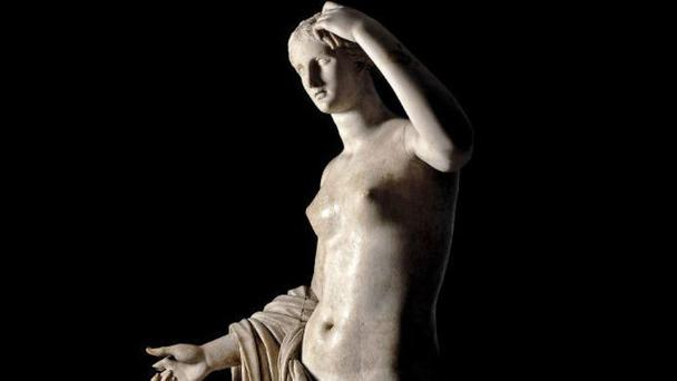 The Townley Venus, a 2,000-year-old Roman statue which was damaged when a waiter preparing for a corporate event at the British Museum broke the thumb off with his head (British Museum/PA)