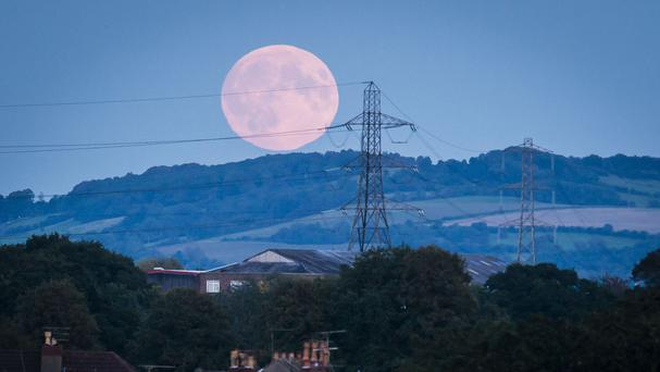 The 'supermoon' will be brighter and appear larger than normal