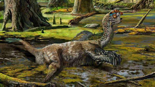 An artist's impression of how the Mud Dragon may have looked (University of Edinburgh/PA Wire)