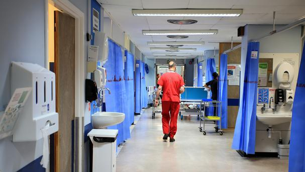 'The pressure on children's hospitals struggling to cope with a surge in demand for services eased yesterday after an appeal to parents' (stock photo)
