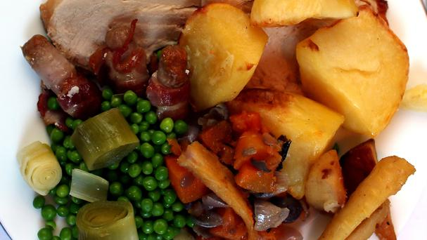 Christmas dinners are getting cheaper