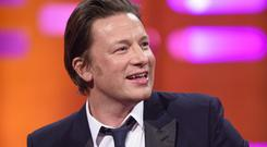 Jamie Oliver appeared on the Graham Norton Show