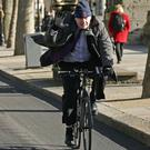 Boris Johnson said he missed not being allowed to cycle
