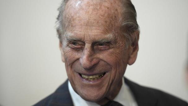 The Duke of Edinburgh is 95