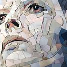 Ed Chapman made a mosaic of music giant David Bowie (Handout/PA)