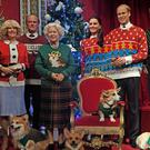 Wax figures of members of the Royal Family in Madame Tussauds, London, wear their Christmas jumpers to raise awareness for Save the Children