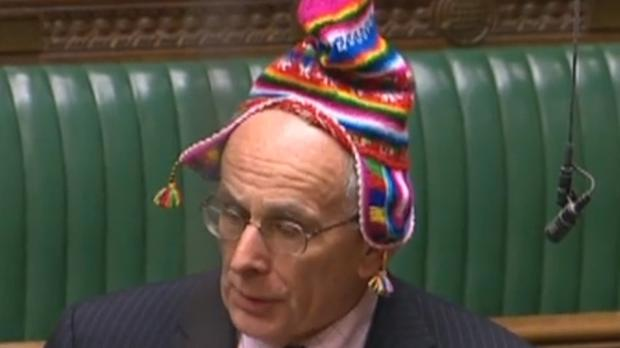 Peter Bone's hat was the talk of the Commons