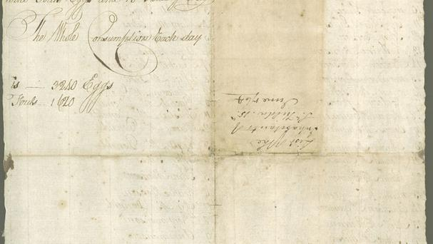 A copy of a 1764 St Kilda census. (National Records of Scotland/PA)