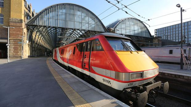 A Virgin Trains East Coast service was delayed by a scorpion