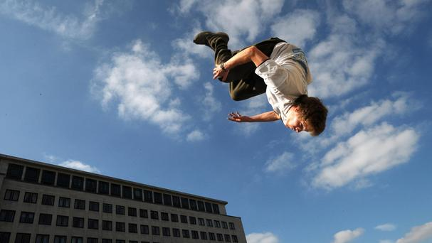 Parkour groups can now apply for Government grants and National Lottery funding