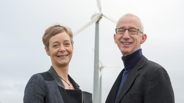 David Pike and Karin Sode are launching a crowdfunding campaign to start their own energy company (Our Energy/PA)