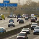 Police cracked down on distracted drivers on main roads and motorways including the M27