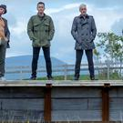 Ewen Bremner, Ewan McGregor, Jonny Lee Miller and Robert Carlyle have returned for Trainspotting 2 (PA/Sony Pictures Releasing)