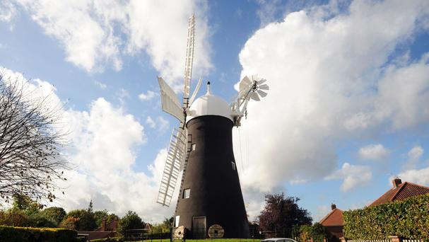 Holgate Windmill is the oldest working mill in Yorkshire